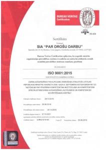 ISO sertifikats